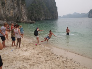 Shenanigans in Ha Long Bay, Vietnam