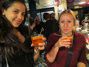 Spritz, local drink in a wine bar